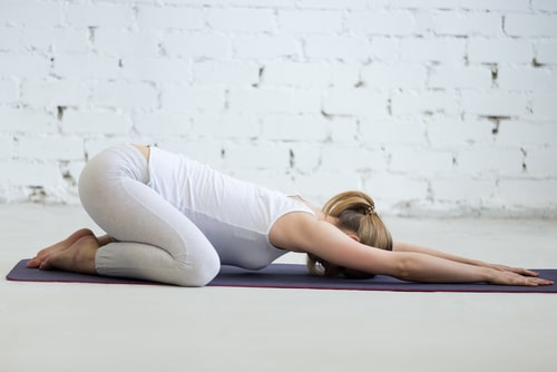 Child's Pose - Relieve Back Pain During Pregnancy