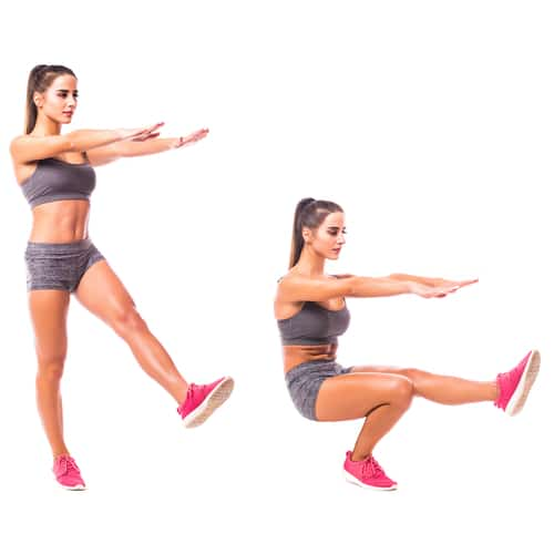 7 Exercises for IT Band Syndrome Pistol Squat